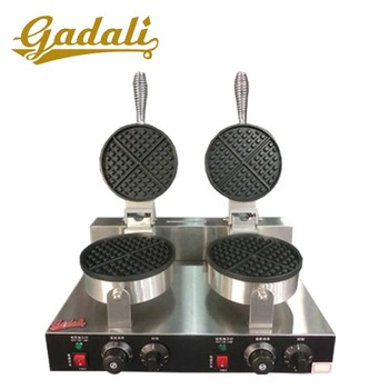 Factory price commercial double digital egg waffle machine