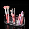 Professional 3 Slot Clear Acrylic Makeup Eyebow Pencil Cosmetic Brush Holder