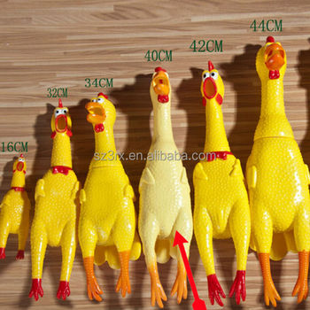 Vinyle Scream Chicken Toys For Venting Shrilling Scream
