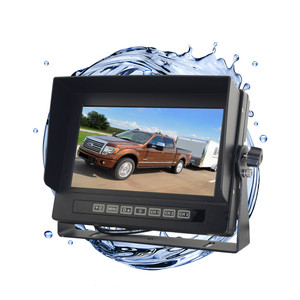 Parts for car waterproof lcd monitor used parking reverse camera monitor