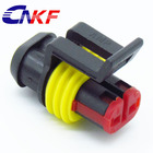 AMP/tyco 2 way female waterproof auto connector