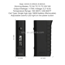 new products 2016 18650 battey TPU DNA75 mod philippine mod vape vaporizer singapore bottom feeder mod