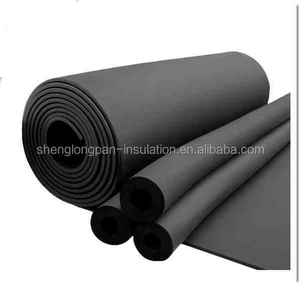 Class 1 NBR rubber foam copper pipe insulation for air conditioning