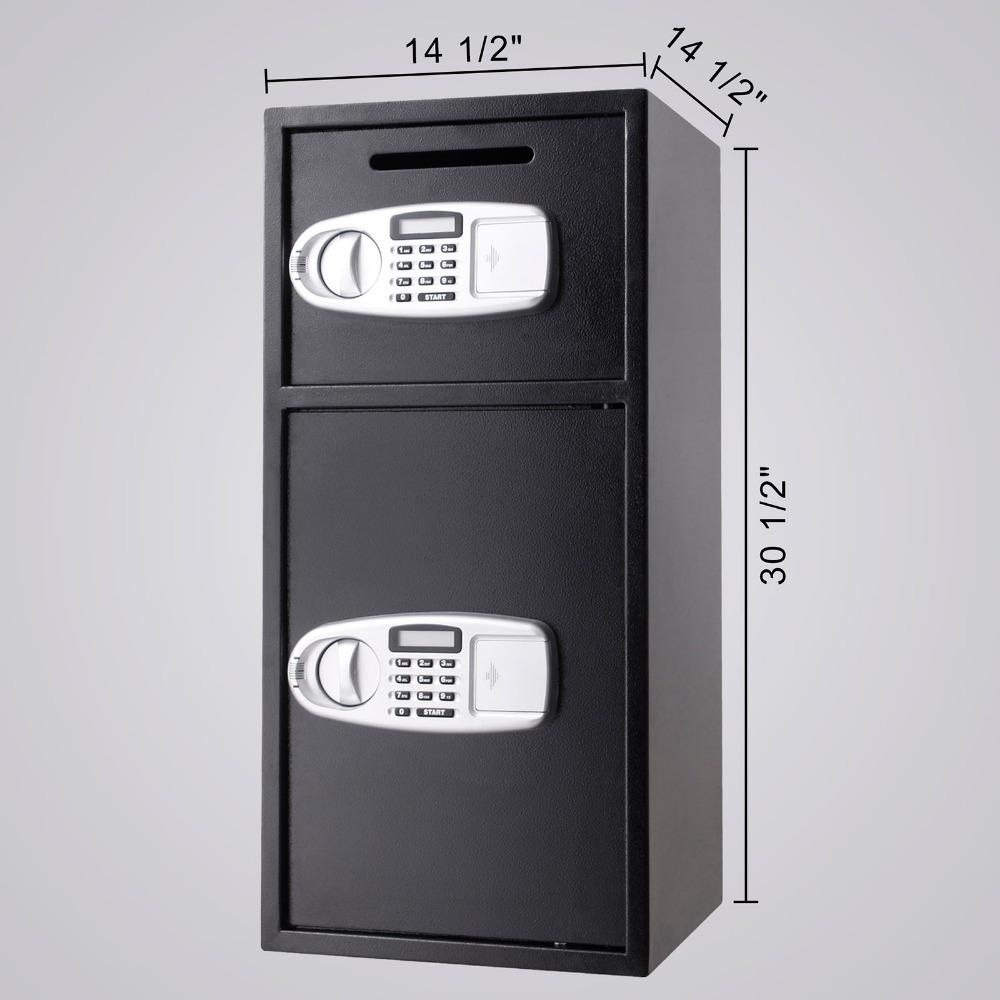 Giantex New 5 Rifle Electronic Lock Gun Storage Safe Cabinet Modern Steel Digital Security Safe Lockbox Gun Case Hw53780 Living Room Furniture