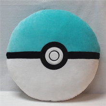 Home Decorative Pokemon Pillow Newest Design Soft Plush Pokeball Elf Egg Toy