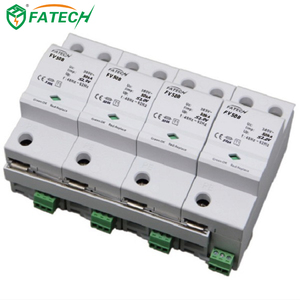 China online shopping Type 1 50kA 3 phase lightning arrester Surge Protector spd supplier