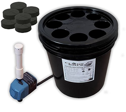 8 Site Aeroponic Plant Cloner - Clone Bucket 1.0 SM 8 site From Hydro West