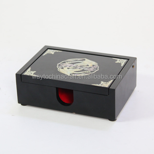 Top quality custom logo desk name card box
