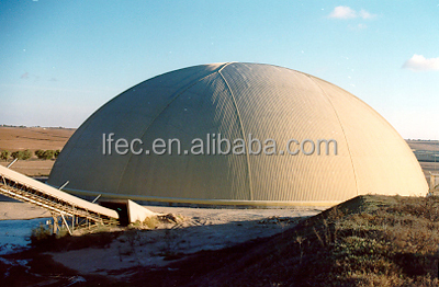 Lightweight Steel Prefabricated Sheds for Dome Construction