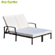 Cushioned Reclining Outdoor double sun lounger