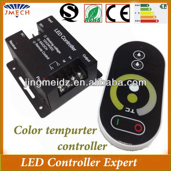 Wireless color temperature elo capacitive touch screen controller
