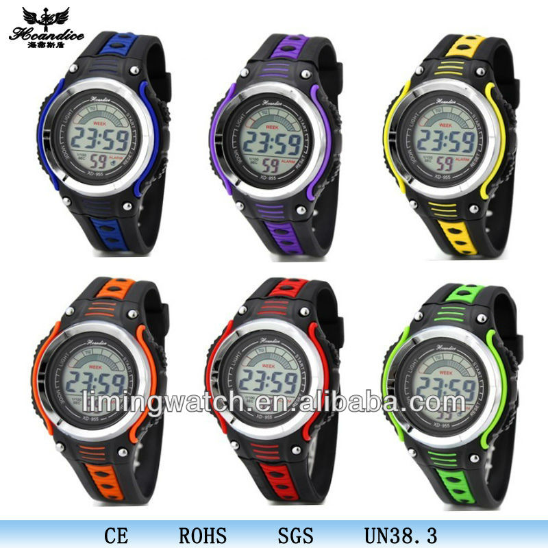 2017 New products fashion multi functional led details quartz watches