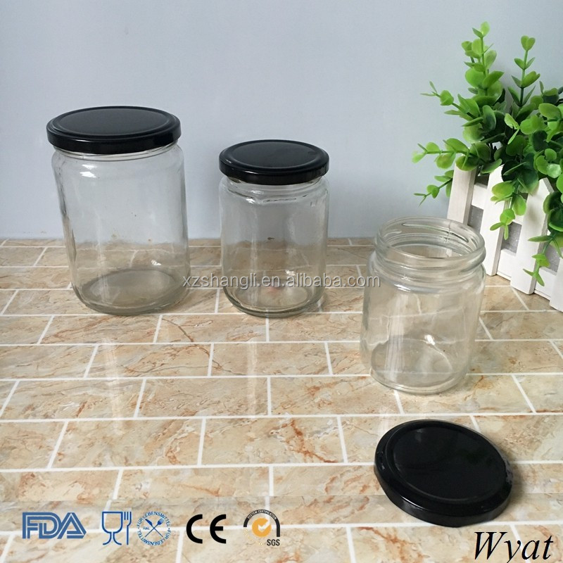 Cheap Custom 200ml Glass Jars for Honey Jam Storage