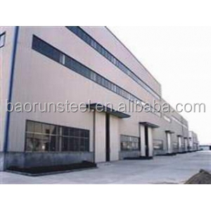 Qingdao BR made in china modern structure prefabricated steel structure car garage