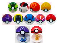 Mix Color Japanese Anime Figure Ball Toys Pokemon Master Ball ...