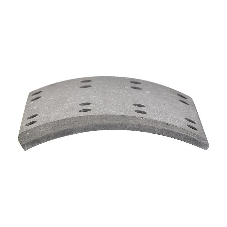 195*220*14,5/16,0 Semi Metallic Qualität Lkw Bremsbelag