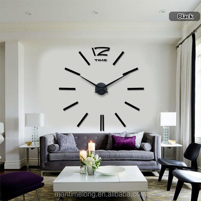 Big Size Wall Clock Part - 32: Wall Clock Big Size Customized Wall Clock Fancy Wall Clock