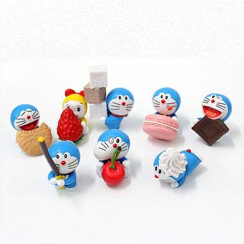 Oem Custom Miniatur Doraemon Kartun Action Figure Mainan Buy Boneka