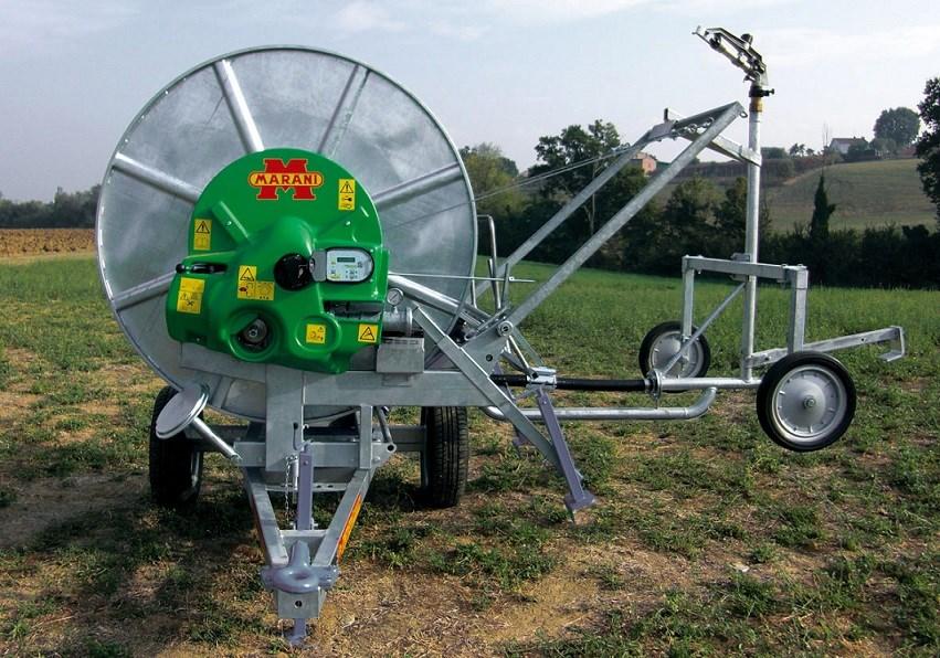 Italy marani hose reel irrigation machine buy hydraulic