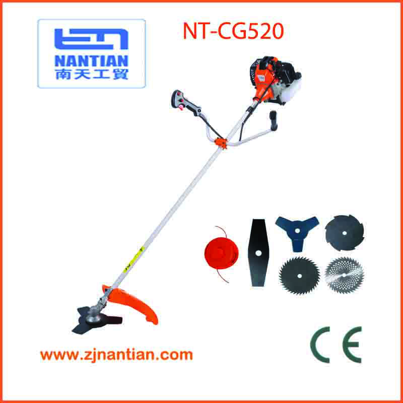hot sale 52cc brush cutter with CE certification china garden machinery