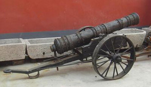 hot sale high quality cast iron cannon model