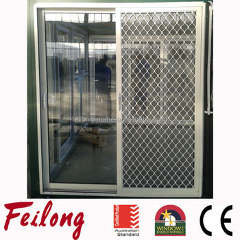 FL120 Aluminum 2 Sashes Sliding Glass Door Security Mesh Showed in 2015 Sydney Build Design Passed & FL120 Aluminum 2 Sashes Sliding Glass Door Security Mesh Showed in ...