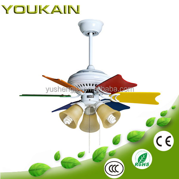 32 inch 6pcs plywood blades ceiling fan lighting