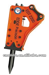 EDT 2200 side type hydraulic breaker
