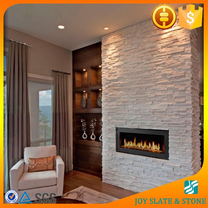 Cuarzo Blanco Ledgestone Paneles Para Pared Interiormoda Paneles De - Paneles-para-paredes-interiores