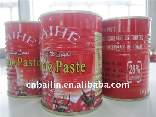 Bulk Tomato Puree 850g Gino Tomato Paste 28%-30% Haccp Certified ...