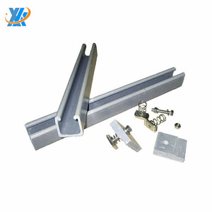 Metal Building Materials Cold Bending Strut Slotted Channel