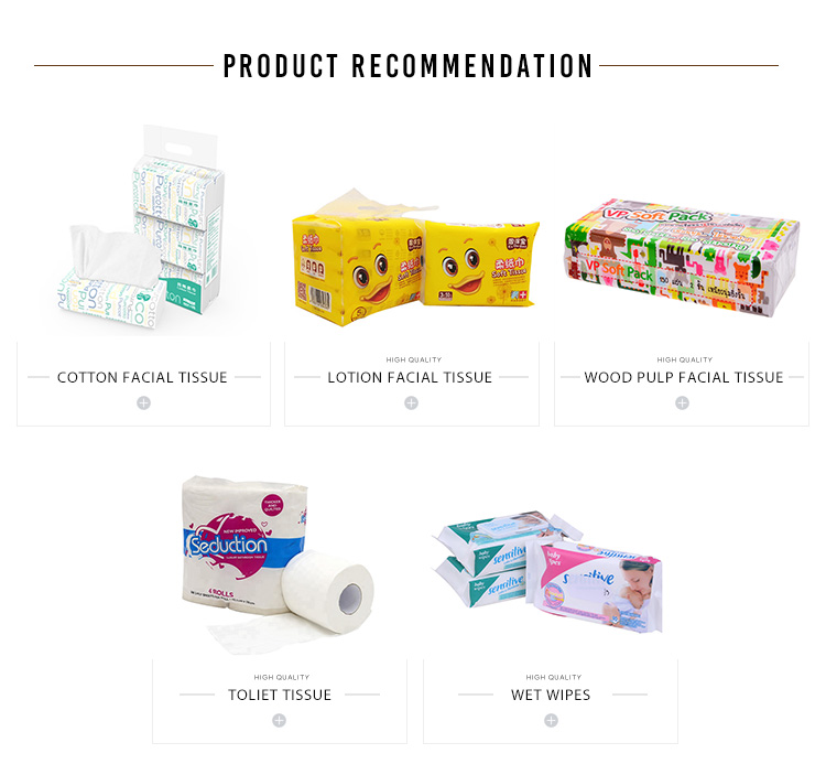 Environmental Cheap Promotional Customized Cotton Facial Tissue Paper