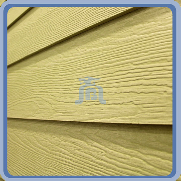 Fire Resistant Wood Grain Fiber Cement Shera Board