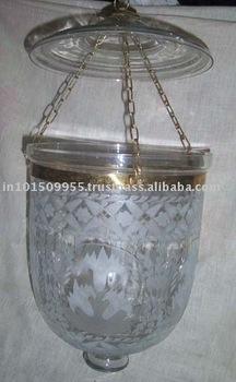 Gros Decoratif Suspendu Lampe De Plafond Indienne Cristal Plafonnier