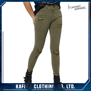 1203757cf26 Jeans Pants Models For Women Tall Waistband Khaki Ripped Skinny Jeans For  Women