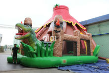 Inflatable dinosaur jumpers