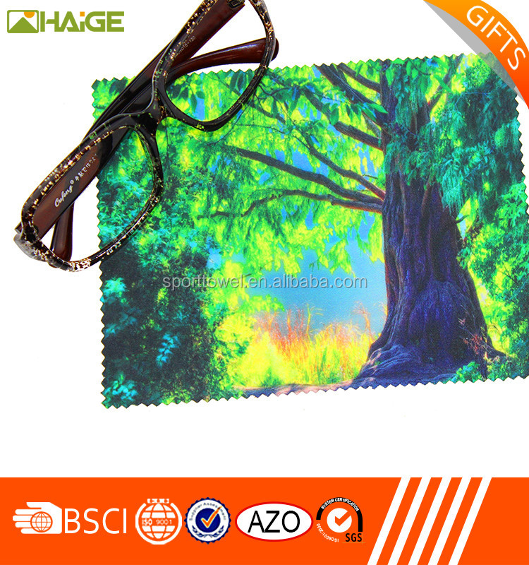 China supplier super soft microfiber eye glasses cleaning cloth , glass cleaning cloth