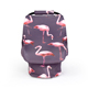 Multiuse 2 In 1 Flamingo Nursing Cover Soft And Stretchy Car Seat Cover Baby