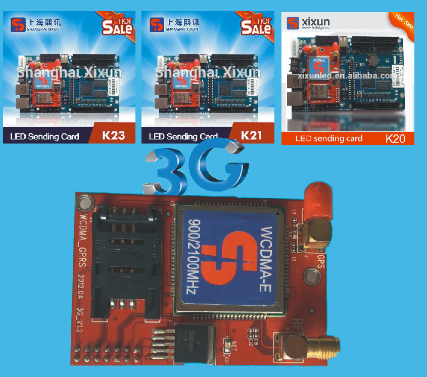 WIFI LED DISPLAY CONTROL CARD K13 SHANGHAI XIXUN