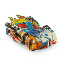 China cheap Graffiti 2.4G light rc wall climbing car toys for kids