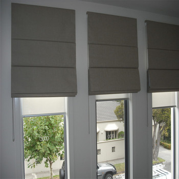 Automatic Roman Blinds Motorized Roman Curtains Roman