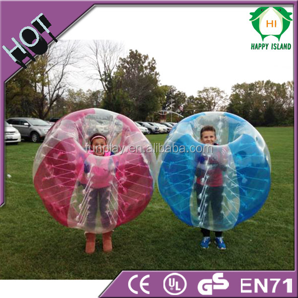 bubble ball for kids,human sized hamster ball,inflatable body bumper ball for kids