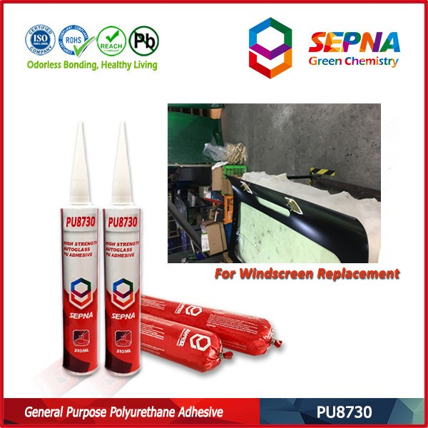 Factory price car glass repair PU <strong>adhesive</strong> sealant, transportation usage polyurethane <strong>adhesive</strong>
