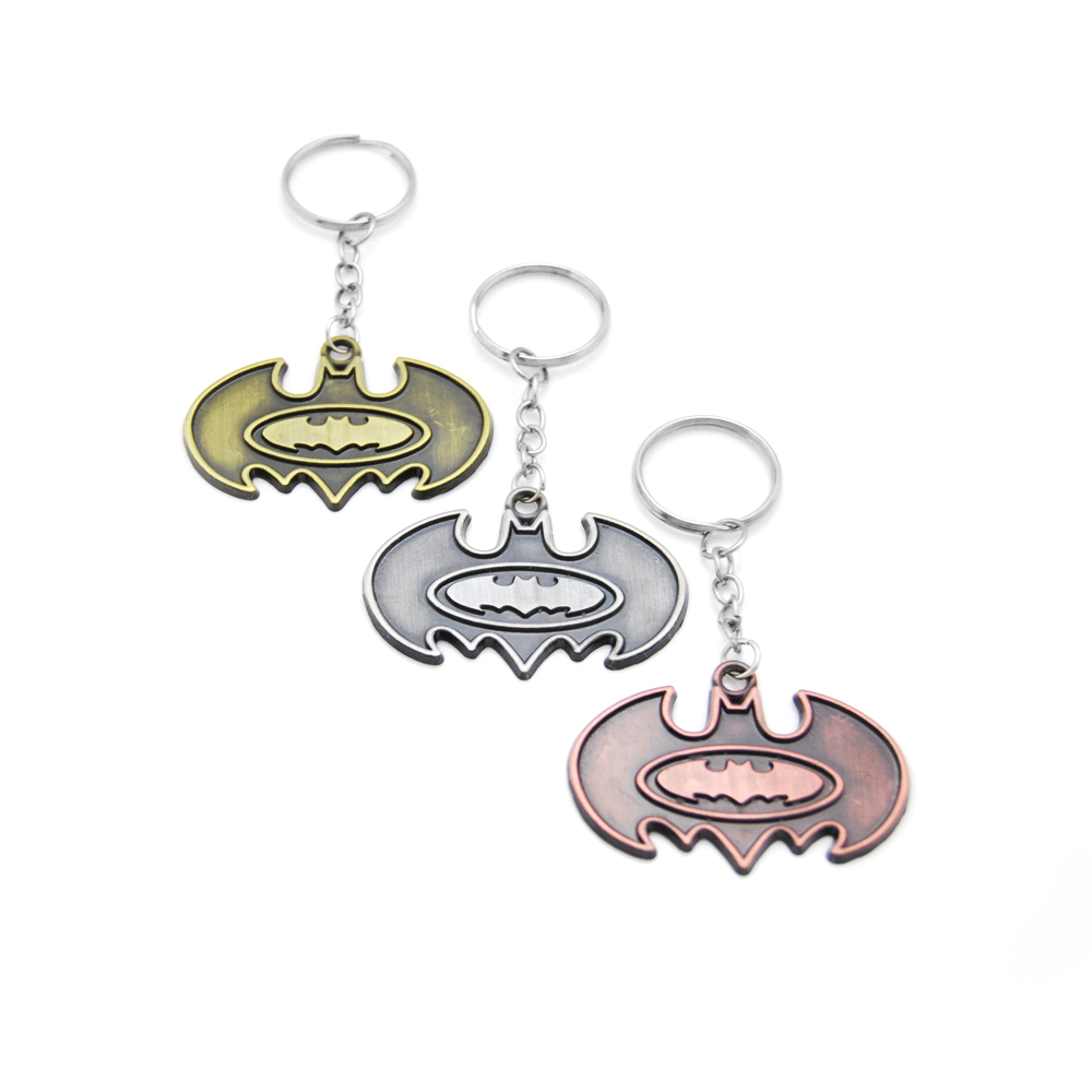 Superhero Batman Key Chain The Dark Knight Key Rings Holder For Male Gift Car Keychain Jewelry Movie christmas gift Souvenir