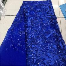 Бордовый ткань для невесты Бисер для платья кружева, новейший африканский тюль кружева, нигерийская одежда вышивка женские кружевные ткани...(Китай)