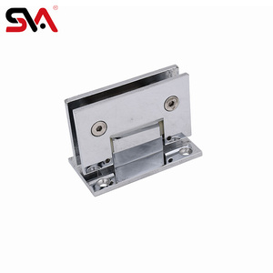 180 glass to glass brass heavy duty glass entry door hinge