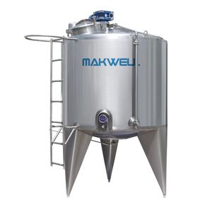 Single Dual Three Layer SUS304 SUS316 Stainless Steel Storage Tank