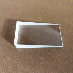 China bk7 3 degree clear square wedge prism used in forestry