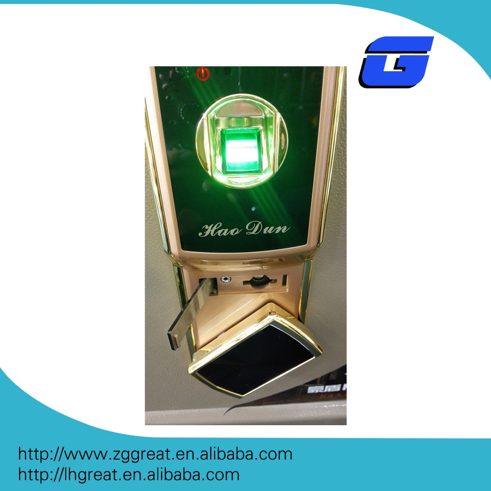 2017quality fingerprint safety deposit box with competitive price