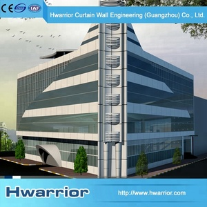 Aluminum Frame Exterior Facade Corrosion Resistance aluminum curtain wall panel